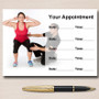Personal Trainer Fitness Instructor Gym Personalised Appointment Cards