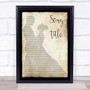 Any Song Lyrics Custom Dancing Couple Wall Art Quote Personalised Lyrics Print