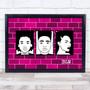 Black Lives Matter Wall Hot Pink Wall Art Print