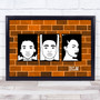 Black Lives Matter Wall Orange Wall Art Print