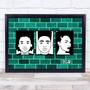 Black Lives Matter Wall Teal Wall Art Print