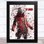 Splatter Art Gaming Fortnite X Lord Kid's Room Children's Wall Art Print