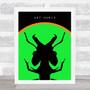 Ant Music Green Music Fan Song Lyric Wall Art Print