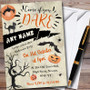 Come If You Dare Scary Personalised Halloween Party Invitations