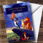 Personalised The Lion King Disney Children's Birthday Card