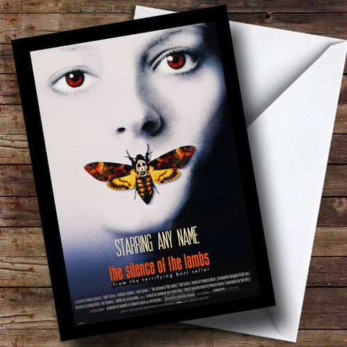 Spoof Silence Of The Lambs Movie Film Poster Personalised