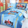 LE42T Car Racing Blue Le Vele Bedding