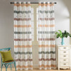 Sheer Curtain Panels - Bermuda - DMC486 Dolce Mela