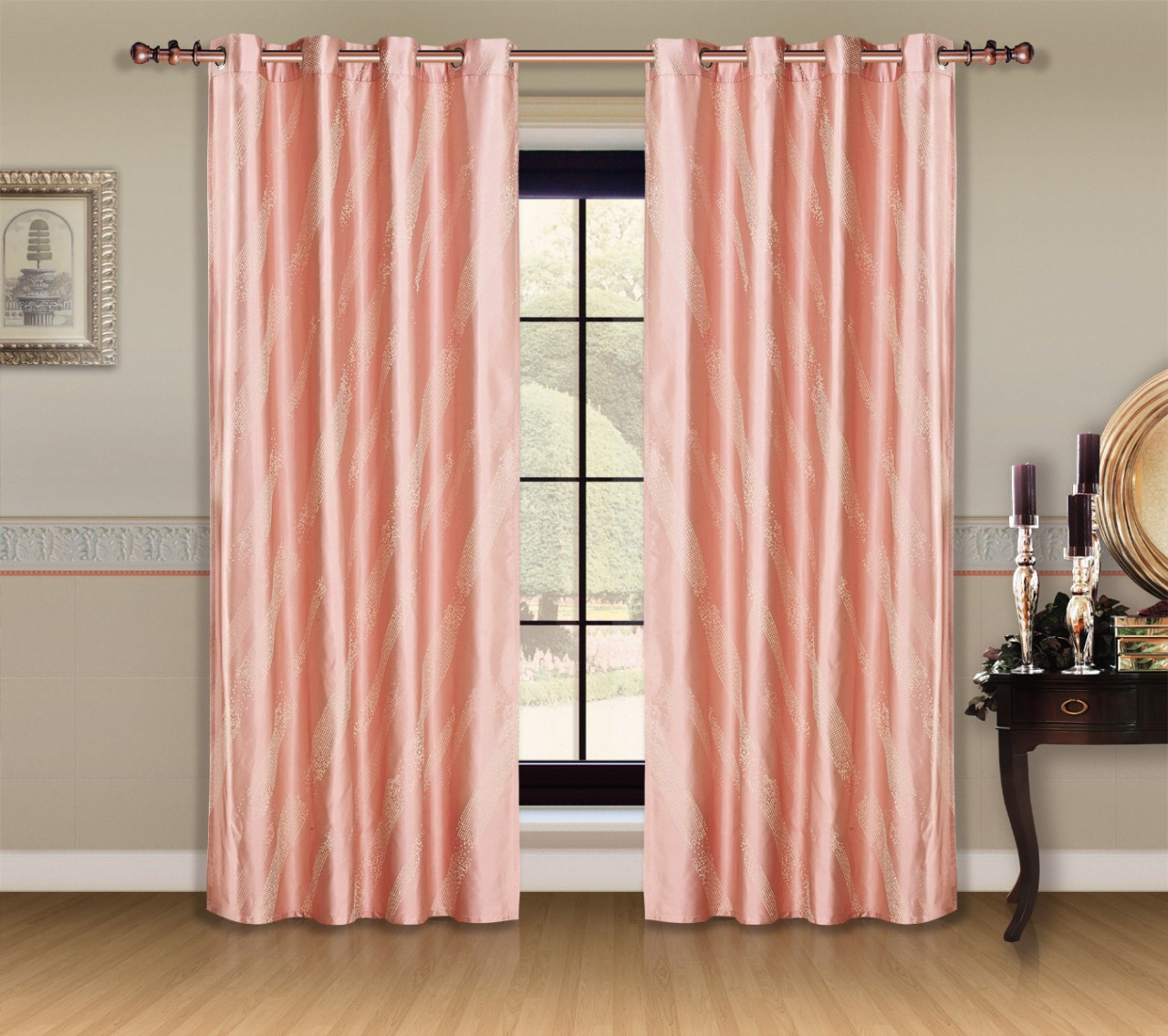 DMC460 Capri Dolce Mela Window Treatments Drapes Curtain Panel