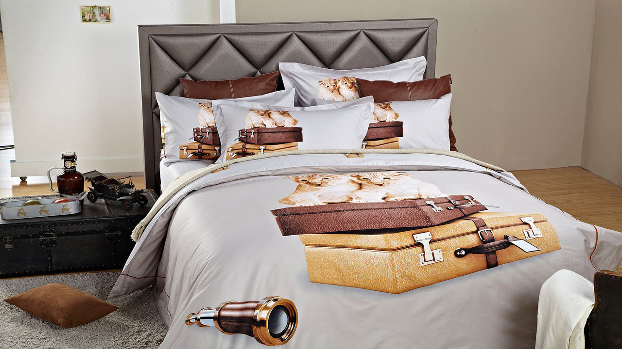 Dolce Mela Twin size Duvet Cover Set DM484T
