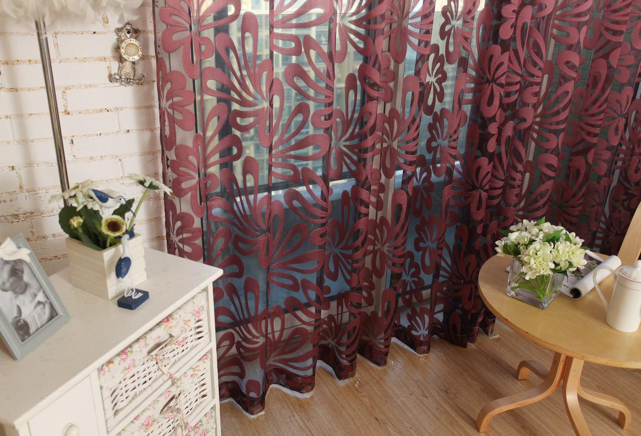 Dolce Mela Sheer Curtain Panels - Madrid DMC472