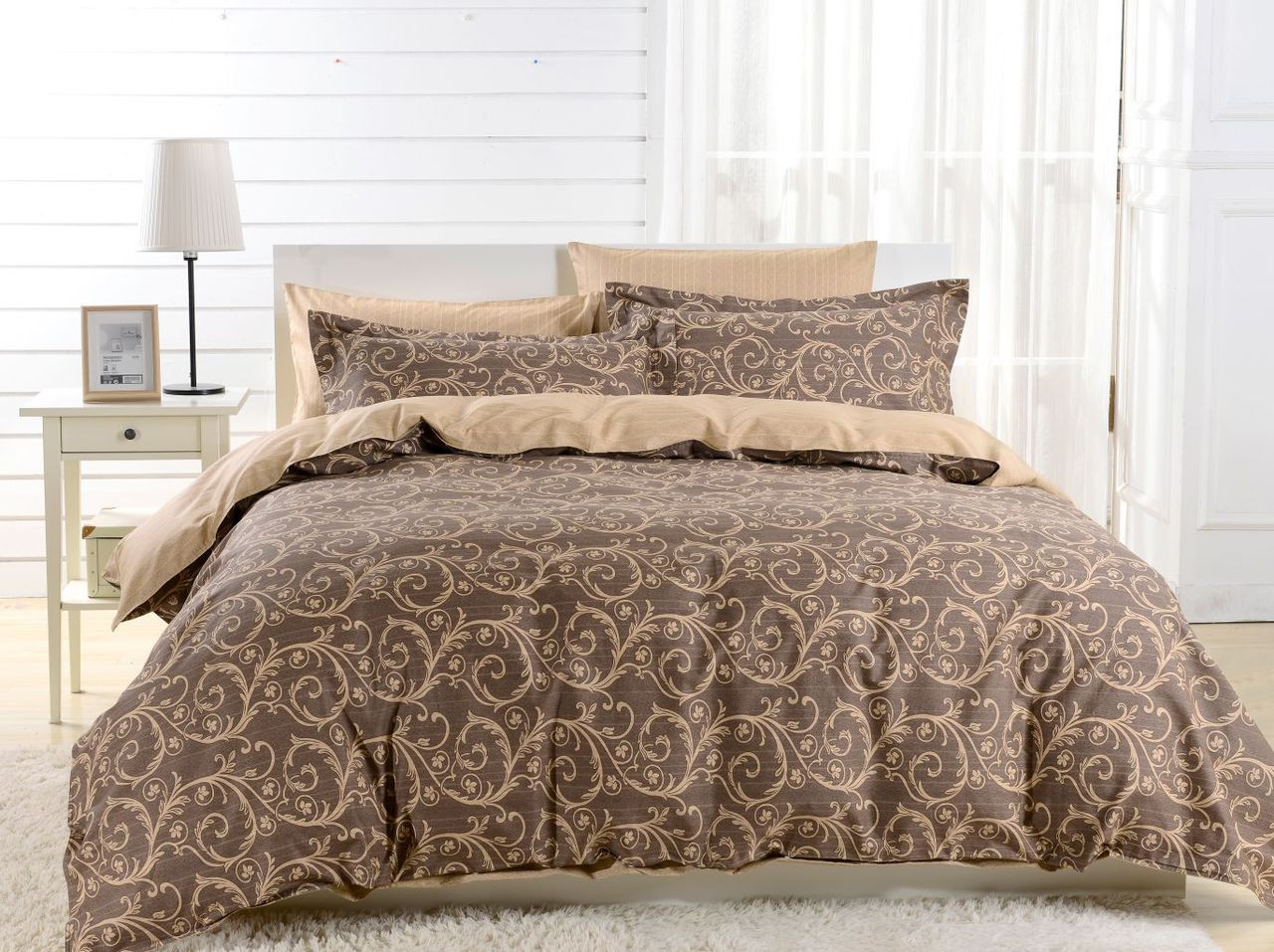 Duvet Cover Set, Dolce Mela Bedding DM602Q