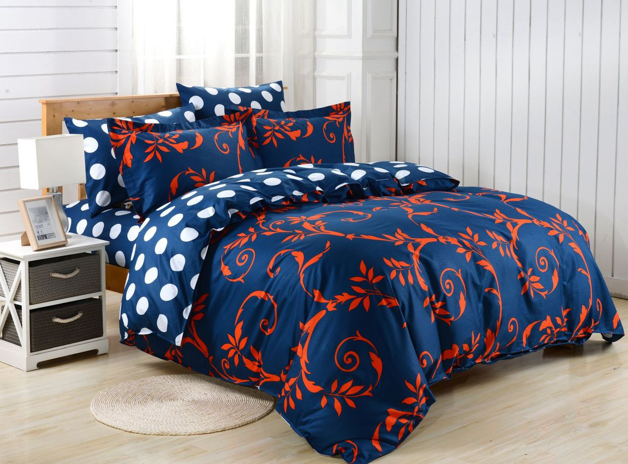 DM624Q Duvet Cover  Set, Dolce Mela Crete Bedding