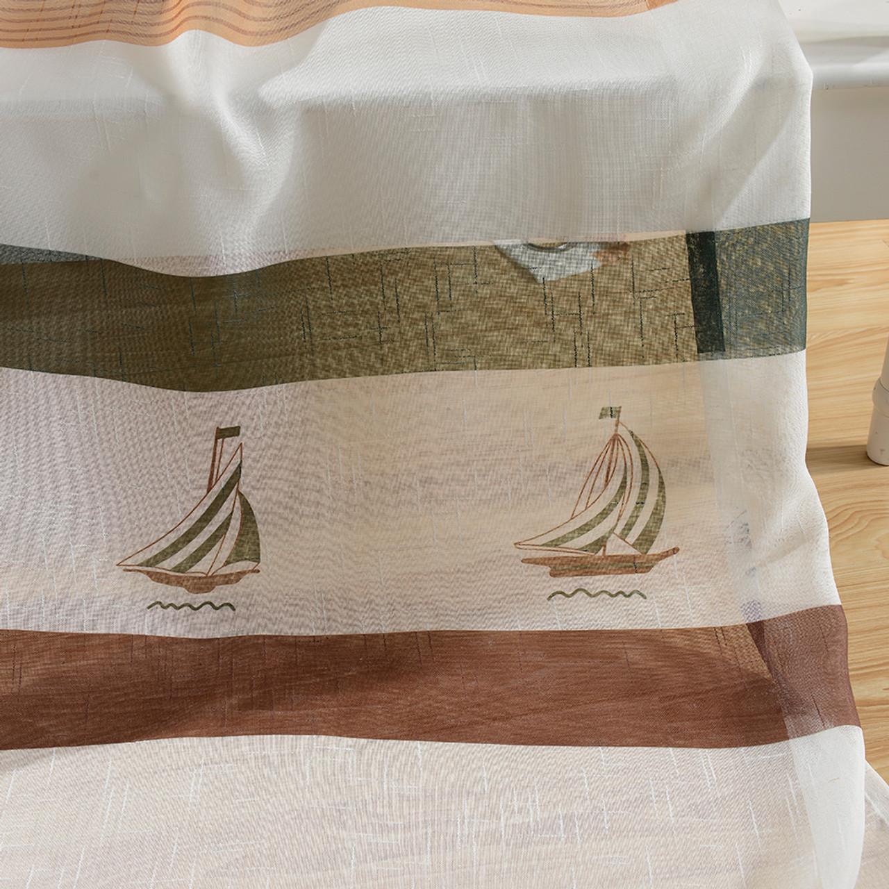 Sheer Curtain Panels - Dolce Mela - Bermuda - DMC486