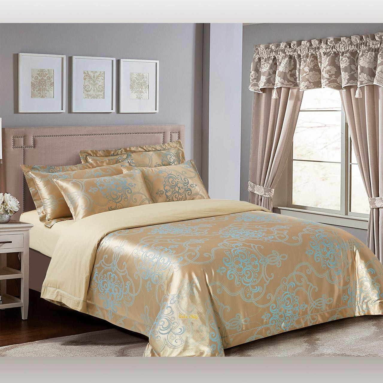 DM505Q Queen size Dolce Mela Bedding Set UPC: 8171460143308
