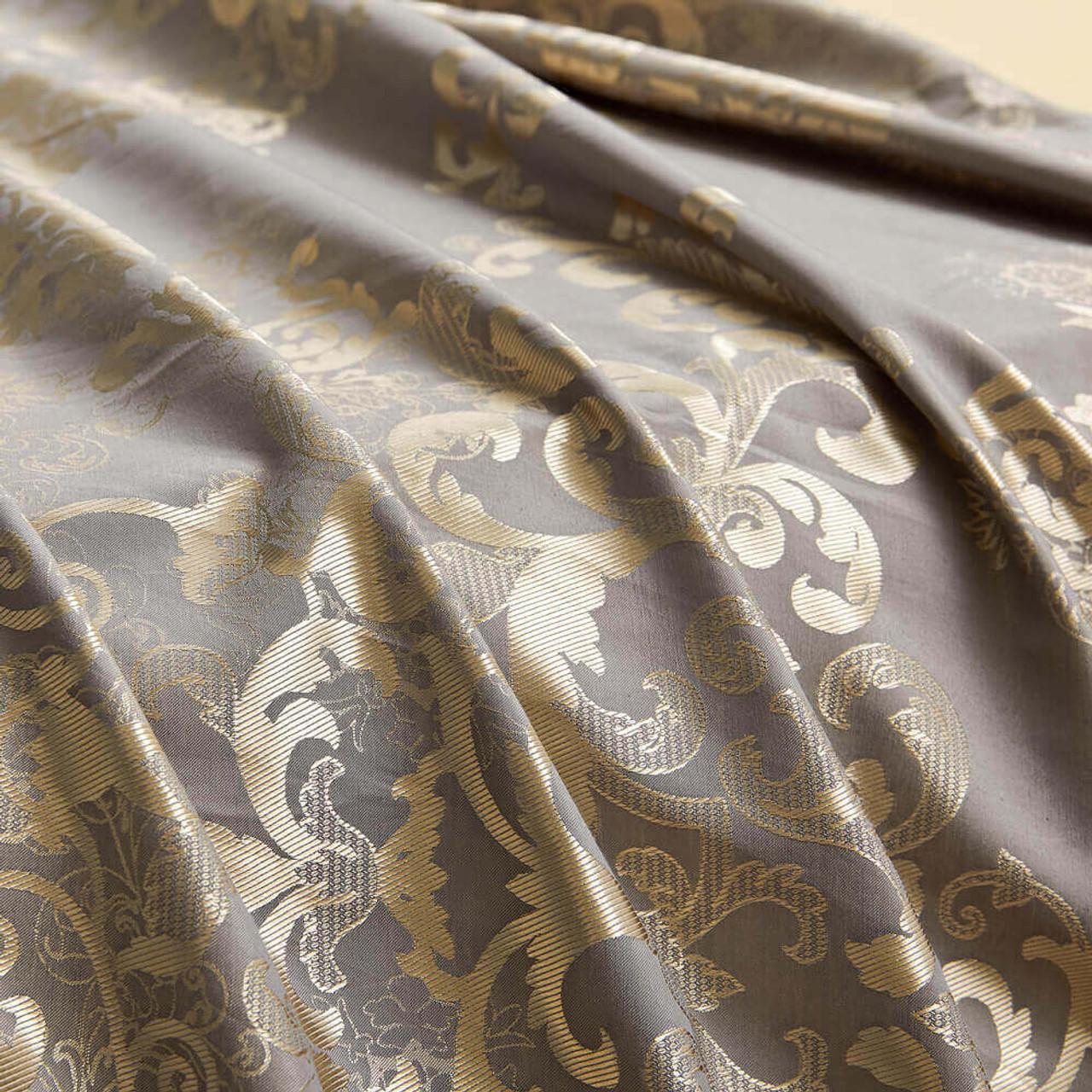 Curtain Panel Semi-Blackout Drapes, DMC715 Dolce Mela Primavera Window Treatments