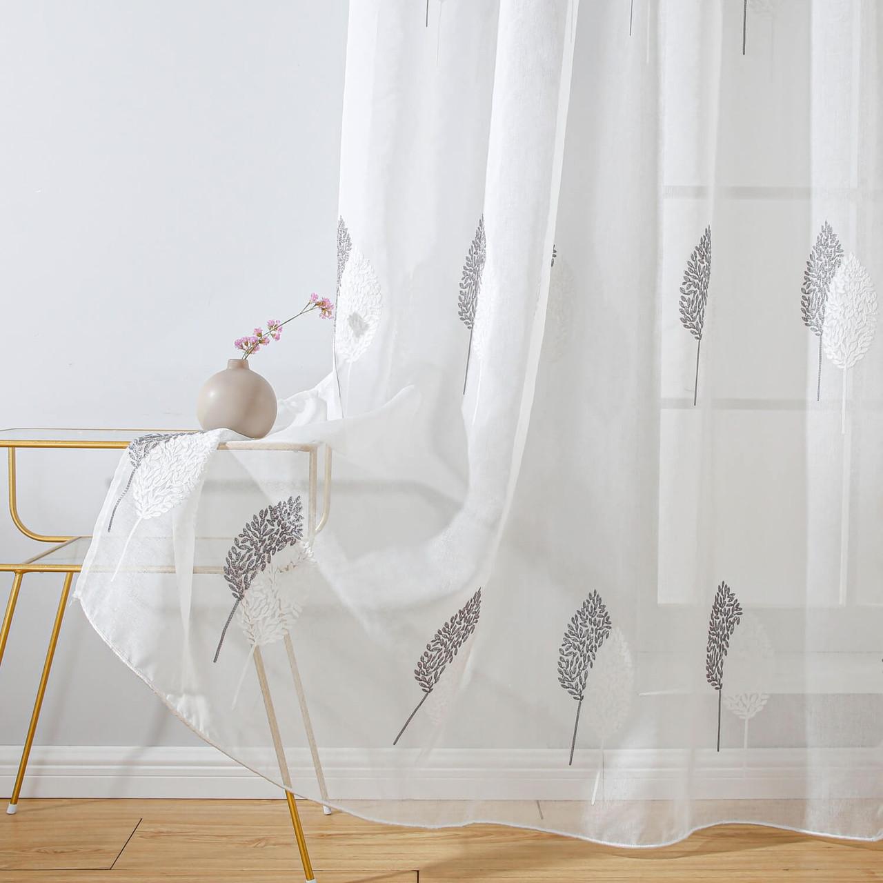 Grommet-Top Window Treatments  8171460151600 DMC724 Dolce Mela Sheer Curtain Panel