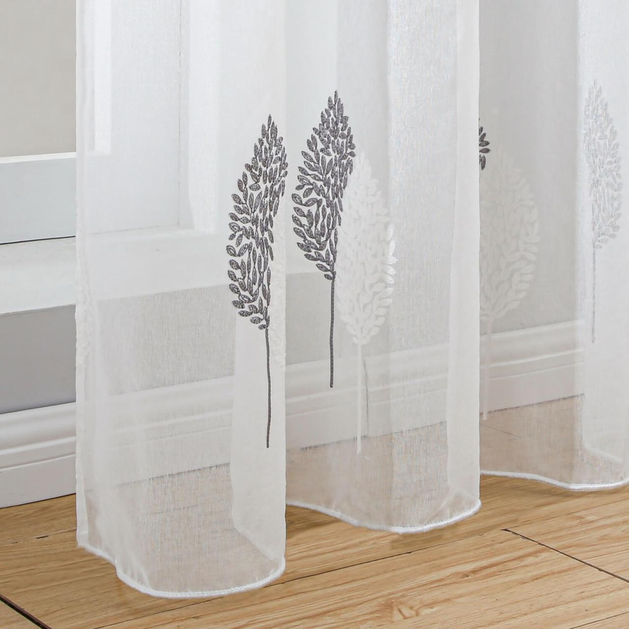 Dolce Mela Sheer Curtain Panel