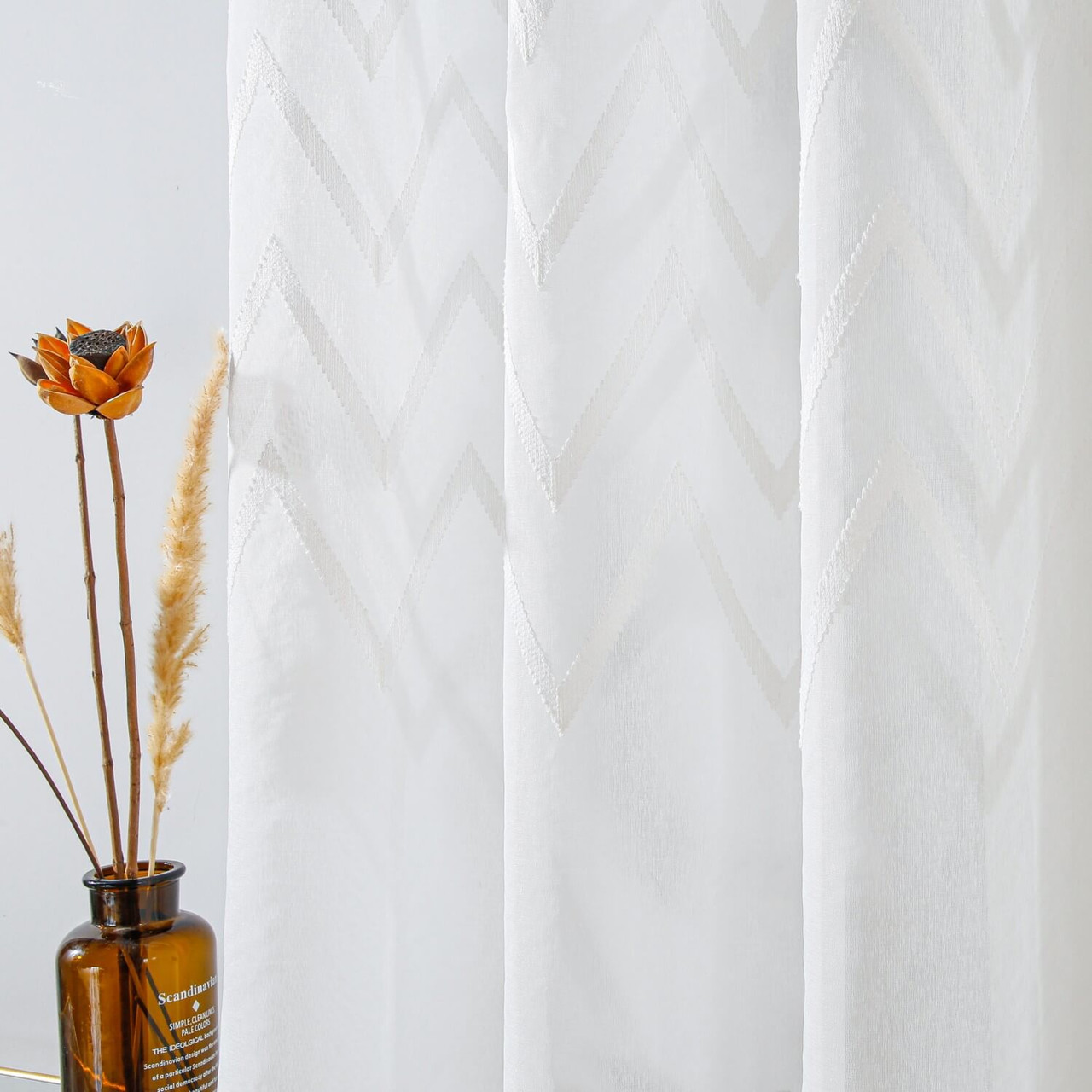 Sheer Curtain Panel  8171460151914