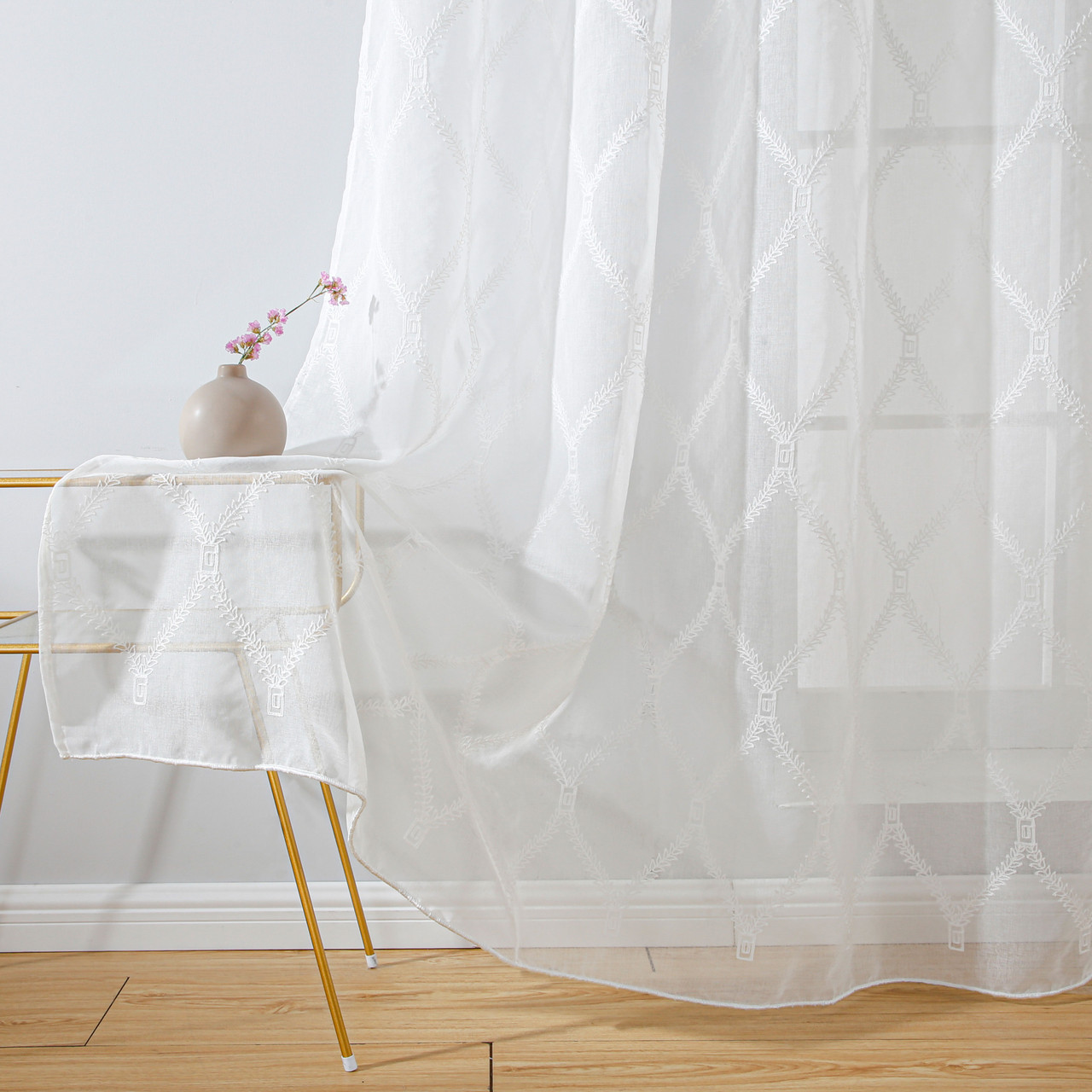 Wholesale Drop shipping Sheer Curtains  Dolce Mela