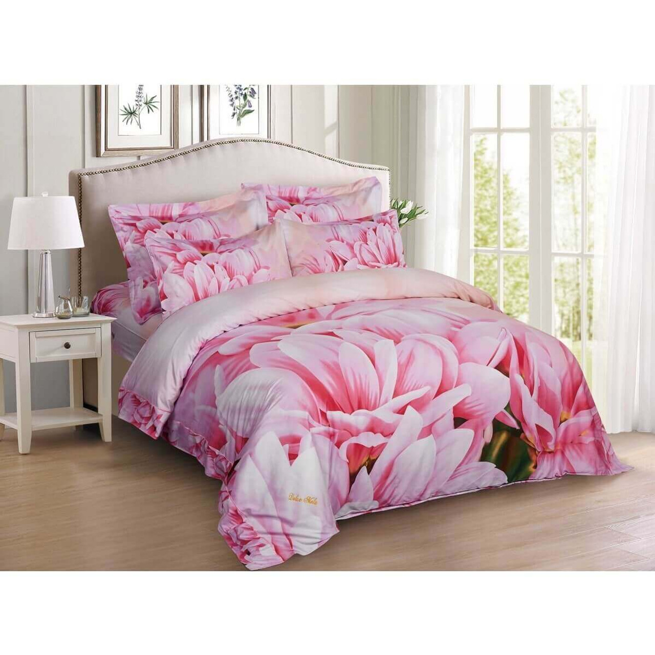 Queen size Floral Bedding, Dolce Mela - May DM701Q  Dropship