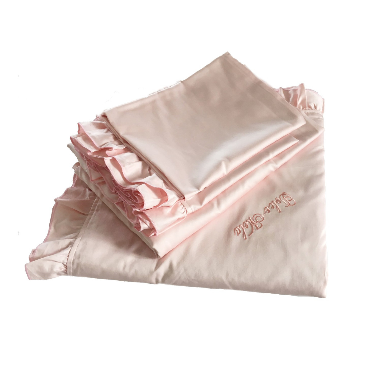 DM808T Ruffle Bedding by Dolce Mela Dropship Bed-in-Bag