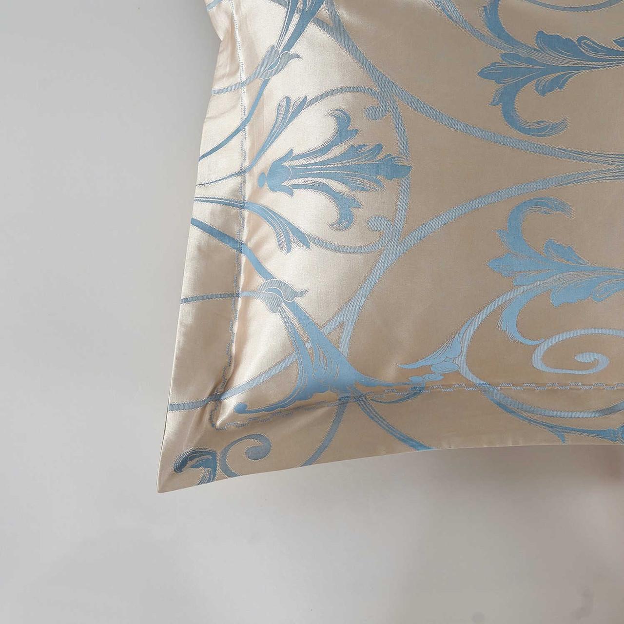 DM800K - St. Petersburg - 6 Pieces Luxury Jacquard King Size Duvet Cover Set