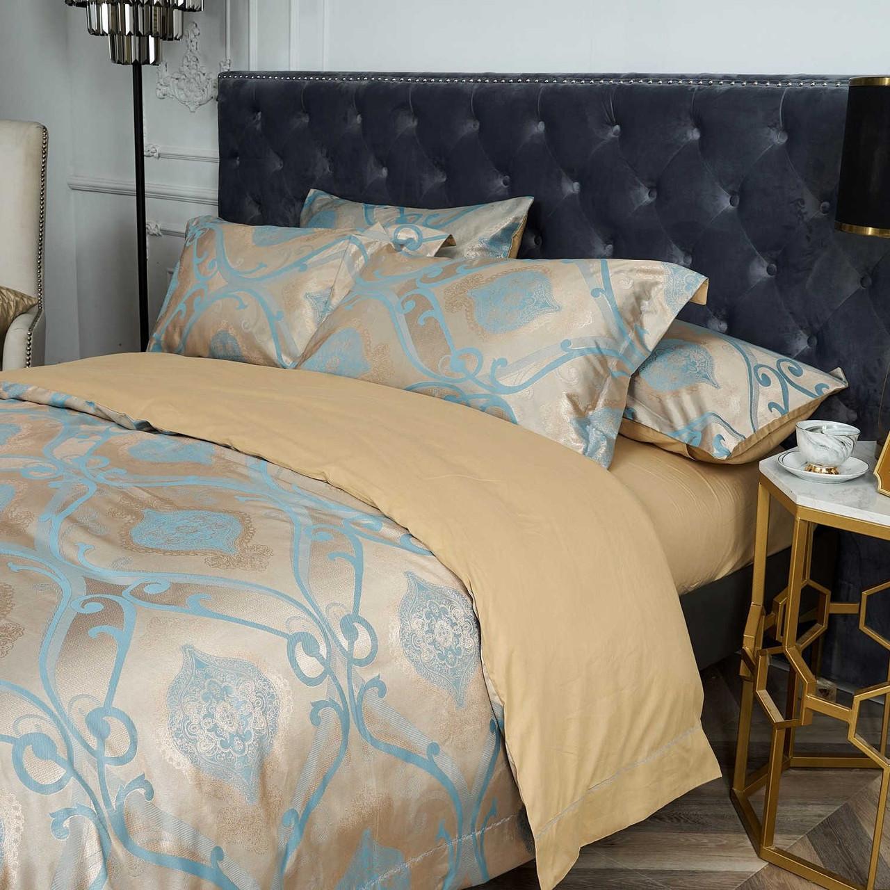 Dropshipping Wholesale-Luxury Jacquard Material Dolce-Mela Bedding DM804K
