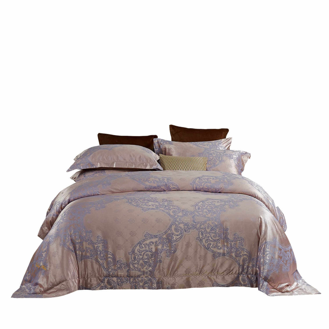 DM805Q Dolce-Mela Luxury Jacquard Bedding Set Wholesale-Dropship