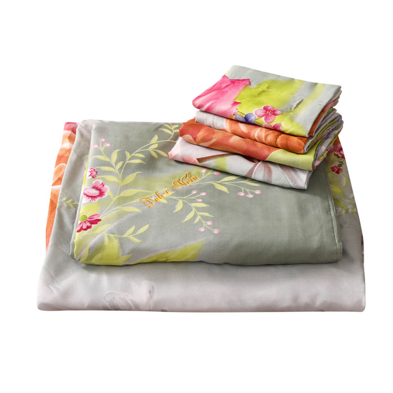 Bed-in-a-Bag for Drop-shipping Jacquard Duvet Cover Set