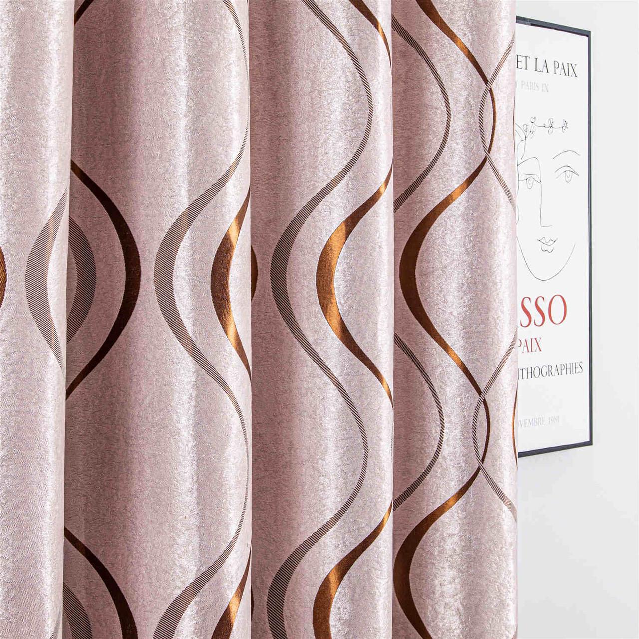 8171460155738  Curtain Panel  DMC497 Dolce Mela Warsaw Window Treatments