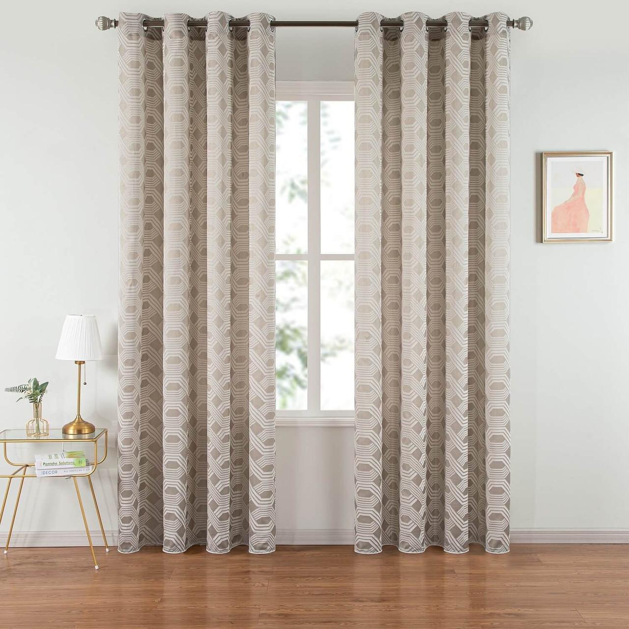 Curtain Panel Grommet-Top Window Treatments DMC501