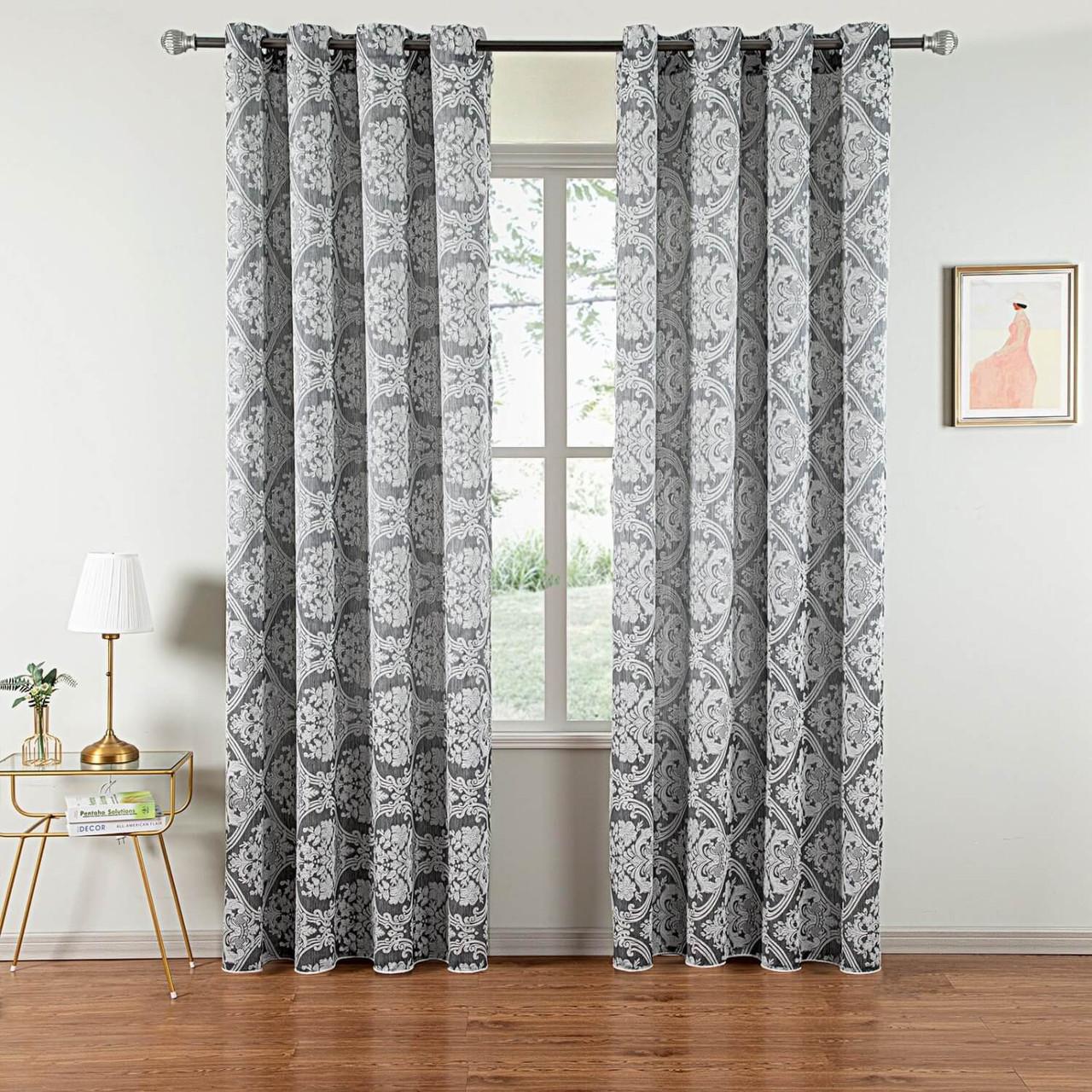Curtain Panel Grommet-Top Window Treatments DMC502