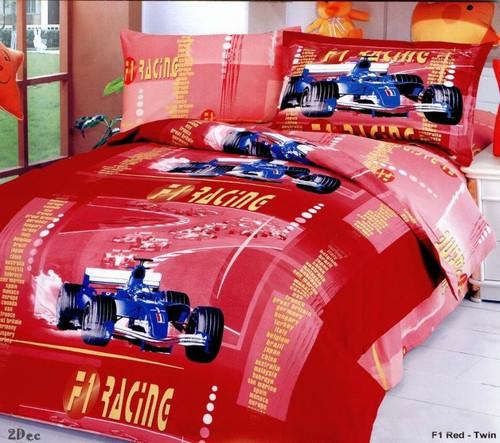 LE41T Car Racing Le Vele Bedding