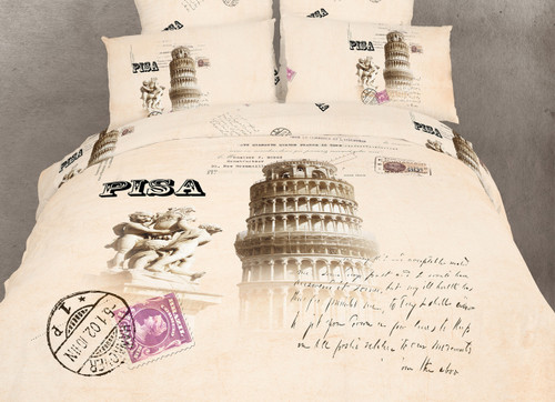Novelty Bedding Twin Duvet Cover Dolce Mela Pisa DM494T