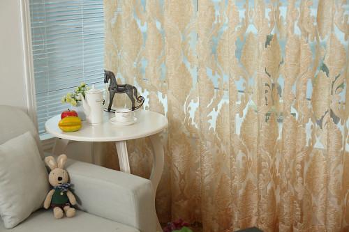 Dolce Mela Sheer Curtain Panels - Rome DMC475