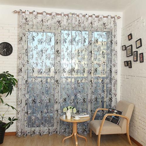 Dolce Mela Sheer Curtain Panels -  Amsterdam DMC477