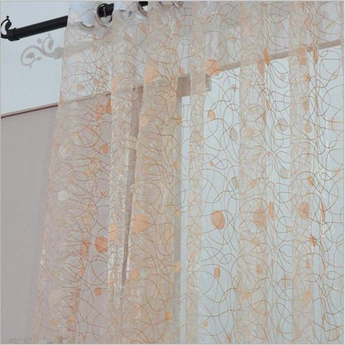 Dolce Mela Sheer Curtain Panels - Marseille DMC479