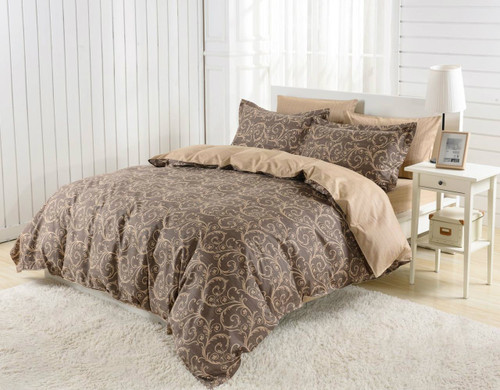DM602Q Duvet Cover  Set, Dolce Mela Bolzano Bedding