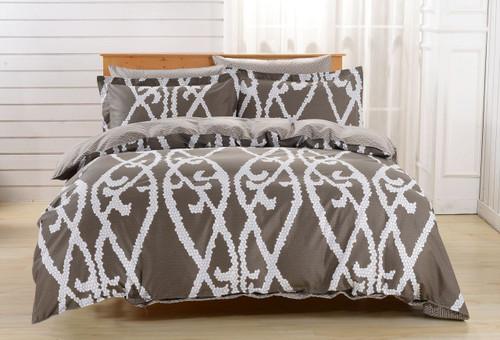 Duvet Cover Set, Dolce Mela Bedding DM604Q