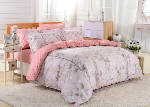 DM609Q Duvet Cover  Set, Dolce Mela Bologna Bedding