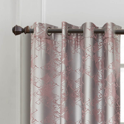 Curtain Panel Semi-Blackout Drapes, DMC714 Dolce Mela Hollywood Window Treatments