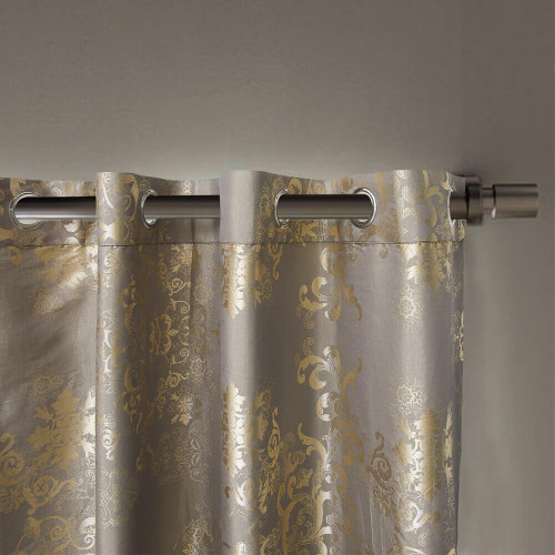 Curtain Panel Semi-Blackout Drapes, DMC715 Dolce Mela Primavera Window Treatments