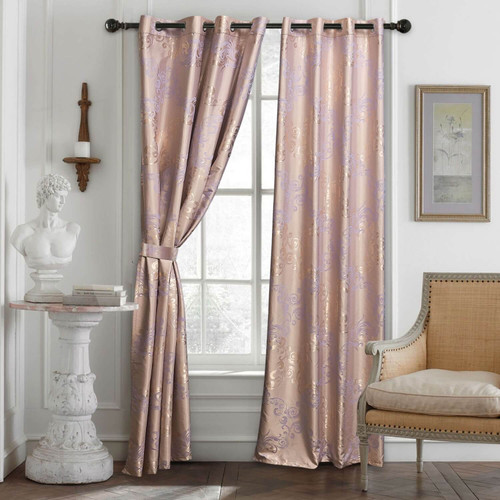 DMC801 Jacquard Curtains by Dolce-Mela Curtains Wholesale-Dropship