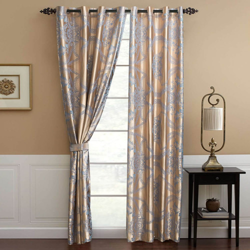 DMC803 Jacquard Curtains by Dolce-Mela Curtains Wholesale-Dropship