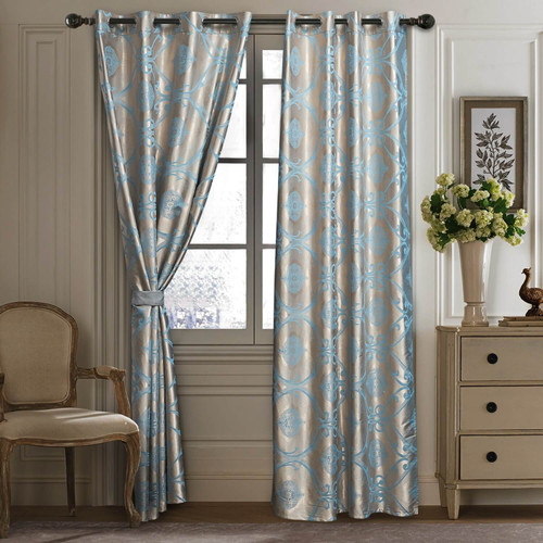 DMC804 Jacquard Curtains by Dolce-Mela Curtains Wholesale-Dropship