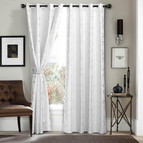 DMC806 Jacquard Curtains by Dolce-Mela Curtains Wholesale-Dropship