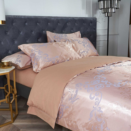 Dropshipping Wholesale Jacquard Fabric Bedding Set DM801K