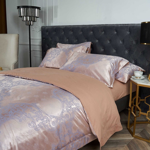 Dropshipping Wholesale-Luxury Jacquard Material Dolce-Mela Bedding DM805K