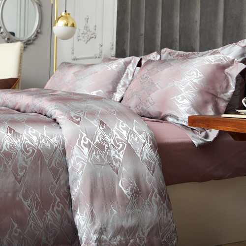 DM714K Duvet Cover Set - Dolce-Mela Bedding Wholesale-Dropship